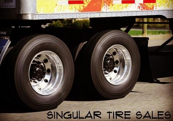 semi truck tire service