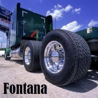 fontana - re-tread truck tires for sale